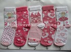 baby cotton sock for child