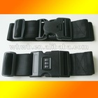 Simple black suitcase belt, Proven quality