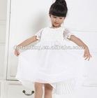 white silk party dress