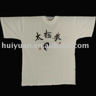 2012 hot sell white man's wear cotton short sleeves
