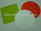 2012 korean style thickening dinner mat, silicone hot pot holder, dish mat