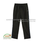 Black sports tracksuits for men