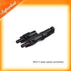 Shenzhen MC4 Y solar panel connector.low price as india