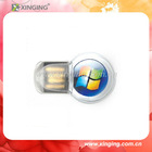 Mini Promotion USB Flash Driver logo could be customized for promotion gifts