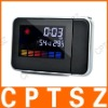 "3.6"" LCD Color Screen Weather Station Projection Clock (3 x AAA)"