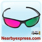 3D Glasses Red/Green (PC Optical Frame and AC Lens )