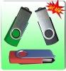 Cheapest Free logo Rotating Metal usb flash disk
