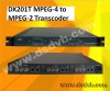 DX201T MPEG-4 to MPEG-2 Transcoder