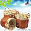 2011 natural handmade shopping wicker handbag