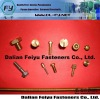 Hign quality environmental brass hollow tubular rivets
