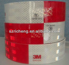 3M Reflective Tape Red White 3M 983D Diamond Grade Tape
