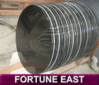 Shanxi Black granite round table tops