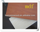 waterproof mdf / laminated mdf / e1 mdf board