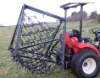 agricultural steel tine chain drag harrows