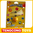 RC Infrared Reaction Mini Flyer 4 cute styles(smiling face/football/pumpkin/skull heads)