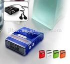 solar pedometer fm radio pedometer