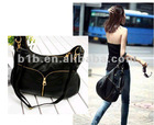 2012 High quality fashion shiny gold metal zipper
