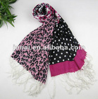Animal printed 100% Linen scarf/Shawl,Fashion 2012 accessories