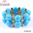 Stylish Deisgn Resin Elastic Bracelets For 2012 - PYBR4345