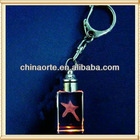 LED Crystal Star Keychain For Children Gifts