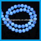 hot sale round cat eye loose beads HJ1053