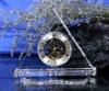 Simple crystal table clock