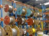 metal cable reel racking