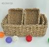 plant fiber beverage basket