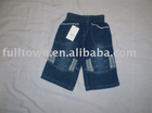 Boys' short jeans,2-6 years old boy's jeans,brand jeans
