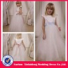 YG-12060110 Satin And Tulle Ball Gown Flower Girl Dress With Sash