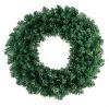 Green PVC Christmas Wreath