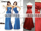 AZRB007 Sheath Strapless Bridesmaid Gown