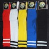Assorted Colors Soccer Striped Socks