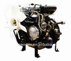 low fuel consumption diesel engine with three cylinders