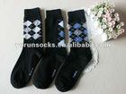 168n classic mid calf arygle men socks