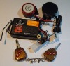 One way Motorcycle alarm system with talking siren