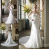 Drop shipping wholesale price elegant sweetheart lace bridal wedding dresses