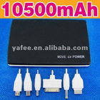 10500mah External Backup Battery Phone Charger O-838