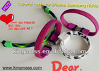 Newest Colorful USB Charging Data Cable for iPhone Sumsung Nokia iPod