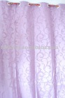 Flocking on taffeta curtain fabric