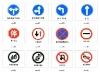 Road Warnning Traffic signs
