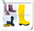 ladies fashionable and colourful rain boots made of pvc and rubber full specification available for all loving beauty people