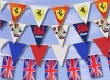 string bunting flags