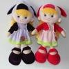 Fashion stuffed talking doll for children