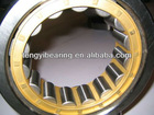Full complement cylindrical roller bearing for machine tool spindle bearings