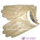 fashion top grade goat leather gloves