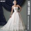 new arrival satin heavy beaded bridal wedding dress HS1987