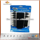 65W Universal automatic laptop ac/dc adpater with USB 5V1A, LCD display
