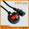uk fused power cord plug
