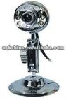 LED night vision USB webcam